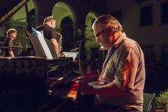 Udin & Jazz festival. A concert in Udin & Jazz festival 2015 in Udine Italy Stock Photo
