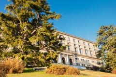 Udine城堡  免版税库存照片