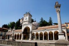Udine,意大利:凉廊二圣乔瓦尼 免版税库存照片