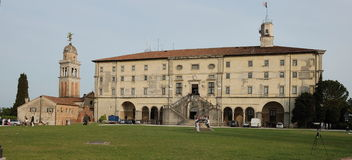 Udine the castle Royalty Free Stock Photo