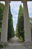 Udine Cemetery Royalty Free Stock Photography