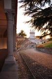 Udine, Friuli Venezia Giulia, Italy. Lippomano porticoes Royalty Free Stock Photography