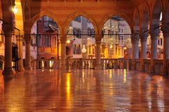 Udine, Friuli Venezia Giulia, Italy. Main square monuments Royalty Free Stock Photos