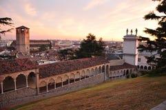 Udine, Friuli Venezia Giulia, Włochy Lippomano porticoes Obraz Stock