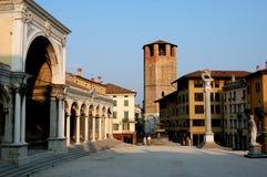 Udine, Italia: Della Liberta della piazza fotografie stock libere da diritti