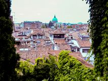Udine Italie - belle photo de ville Udine photographie stock