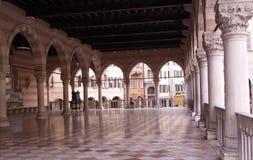 Udine - Italien, Loggia stockbild