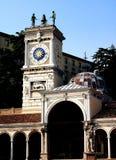 Udine Italien: Loggiadi San Giovanni Royaltyfria Bilder