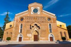 Udine Italien: Roman Catholic Cathedral Royaltyfri Fotografi