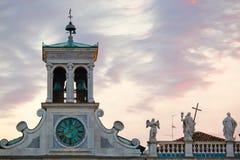 Udine, Kirche von San Giacomo stockfotos