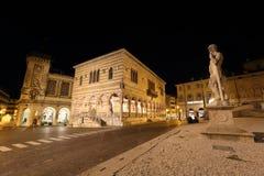 Udine at night Stock Photos