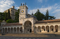 Udine: Piazza Libertà Fotografia Stock