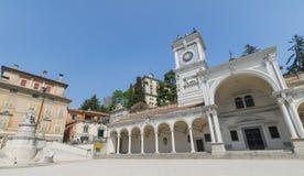 Udine, praça Libertà Fotografia de Stock Royalty Free