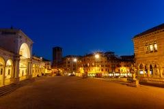 Udine, vista della piazza Libertà Fotografie Stock Libere da Diritti