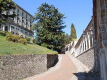 Udine - wspinaczka kasztel obraz stock