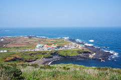 Udo island. In Jeju, South Korea Royalty Free Stock Image