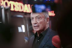 Udo Kier attends the `Don`t Worry, He Won`t Get Far on Foot`. Premiere during the 68th  Film Festival Berlin at Berlinale Palast on February 20, 2018 in Berlin Royalty Free Stock Photos