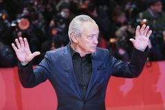 Udo Kier attends the `Don`t Worry, He Won`t Get Far on Foot`. Premiere during the 68th  Film Festival Berlin at Berlinale Palast on February 20, 2018 in Berlin Royalty Free Stock Image