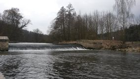 Udoli CZ Babiccino водопада Стоковое фото RF