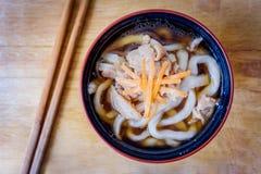 Udon, τρόφιμα της Ιαπωνίας Στοκ φωτογραφίες με δικαίωμα ελεύθερης χρήσης
