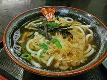 udon de tempura Image libre de droits