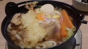 udon do tempura Foto de Stock
