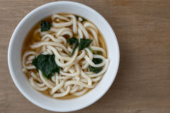 Udon Japanese Noodle Soup Royalty Free Stock Photo
