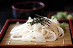 Udon kluski, Japoński jedzenie obrazy royalty free
