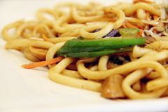 Udon mee Royalty Free Stock Photography