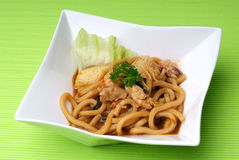 Udon noodle Royalty Free Stock Image
