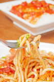 Udon noodle Stock Images
