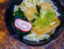 Udon noodle with tofu Stock Photos