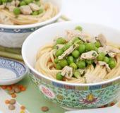 Udon noodles Stock Images