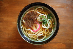 Udon noodles Stock Images