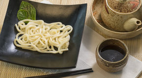 Udon Noodles Japanese cuisine Stock Photo