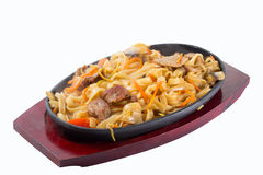 Udon noodles Royalty Free Stock Image