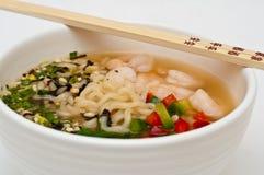 Udon Suppe Lizenzfreies Stockfoto