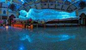 UDON THANI, ТАИЛАНД - 5-ое марта 2016: Самый большой белый мрамор n Стоковое Изображение RF