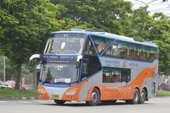 Udon Thani aan de auto van de de reisbus van Bangkok Royalty-vrije Stock Afbeelding