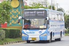 Udon Thani aan de busauto van Ubon Ratchathani Royalty-vrije Stock Fotografie