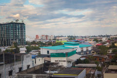 Udon Thani cityscape from roof Stock Photography