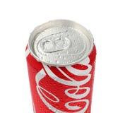 Udon Thani Thailand - Octoberber 15, 2015: Cola kan isolerat Royaltyfri Fotografi