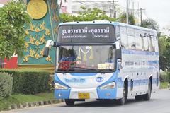 Udon Thani to Ubon Ratchathani bus car Royalty Free Stock Photography