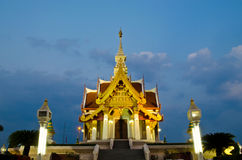 The Udonthani City Pillar Shrine. The city pillar shrine of Udonthani, north-east of Thailand Royalty Free Stock Images