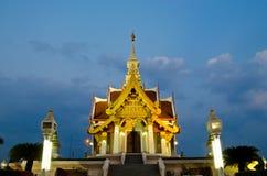 The Udonthani City Pillar Shrine Royalty Free Stock Images