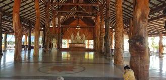 Udonthani de buddha TAILÂNDIA do templo bonito fotos de stock