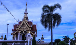 Udonthani shrine. The holy shrine in Udonthani is respected by a lot of Thai people Royalty Free Stock Image