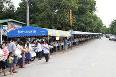 UDONTHANI THAILAND - 10. August: Wat Pa Baan Tat, Udonthani, Thailand Stockbilder