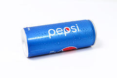 UDONTHANI, THAILAND 17 SEPTEMBER, 2015, Pepsi-Schrijver uit de klassieke oudheid in a kan  Stock Foto's