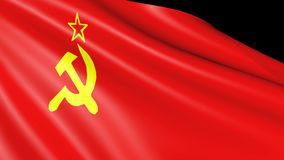 UDSSR-Flagge lokalisiert